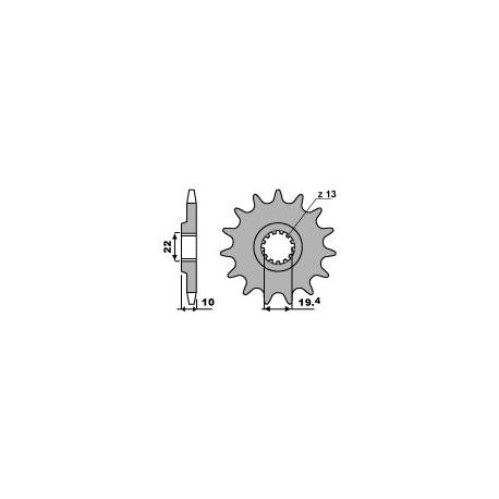 Звезда PBR 435-14 (JTF432-14)