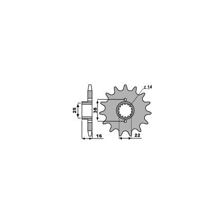 Звезда PBR 490-14 (JTF736-14)