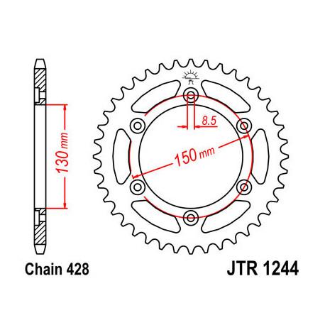 Звезда DCR 1244-52 (JTR1244-52)