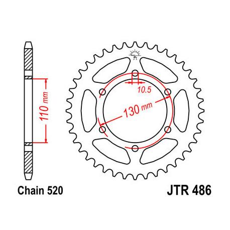 Звезда DCR 486-39 (JTR486-39)