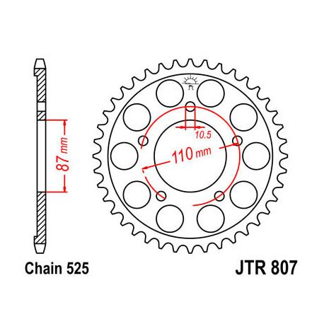 Звезда DCR 807-46 (JTR807-46)
