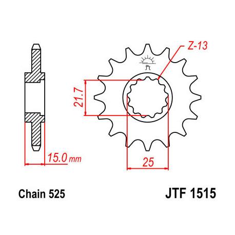 Звезда DCF 1515-15 (JTF1515-15)