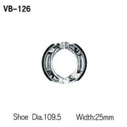 Колодки тормозные Vesrah VB-126