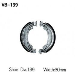 Колодки тормозные Vesrah VB-139