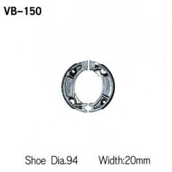 Колодки тормозные Vesrah VB-150