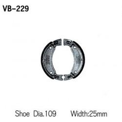 Колодки тормозные Vesrah VB-229
