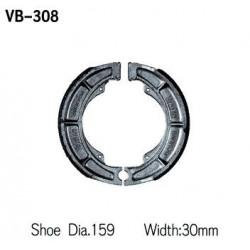 Колодки тормозные Vesrah VB-308