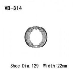 Колодки тормозные Vesrah VB-314
