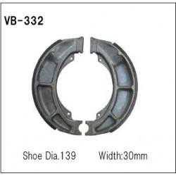 Колодки тормозные Vesrah VB-332
