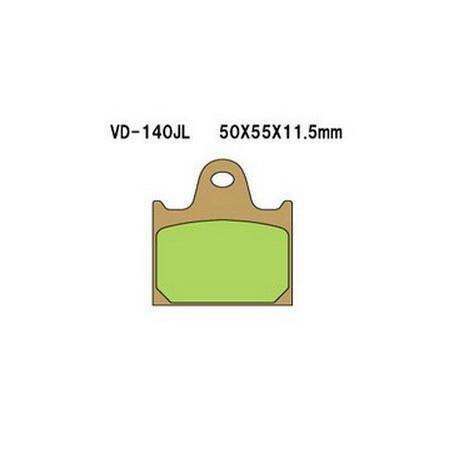 Колодки тормозные Vesrah VD-140JL