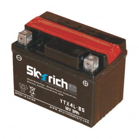 Аккумулятор Skyrich YTX4L-BS (YT4L-BS)