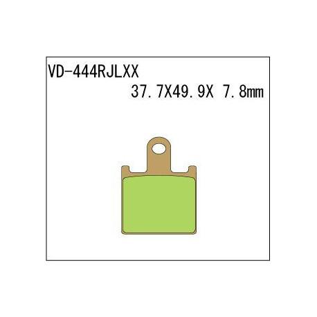 Колодки тормозные Vesrah VD-444RJLXX