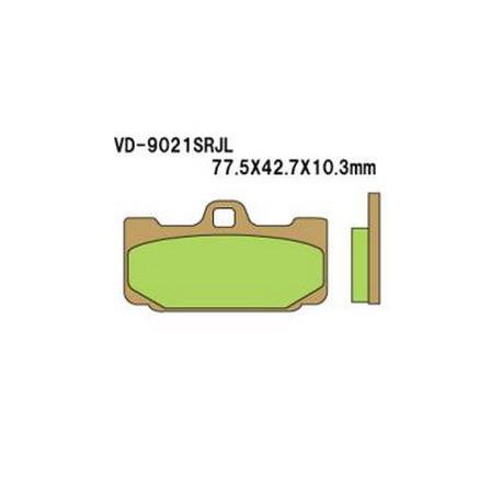 Колодки тормозные Vesrah VD-9021SRJL