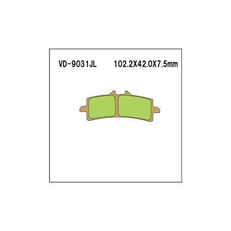 Колодки тормозные Vesrah VD-9031RJL