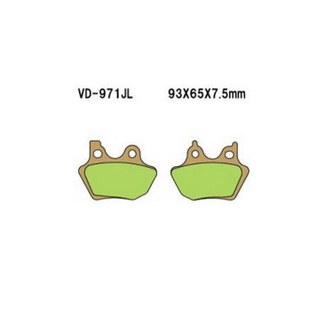 Колодки тормозные Vesrah VD-971JL