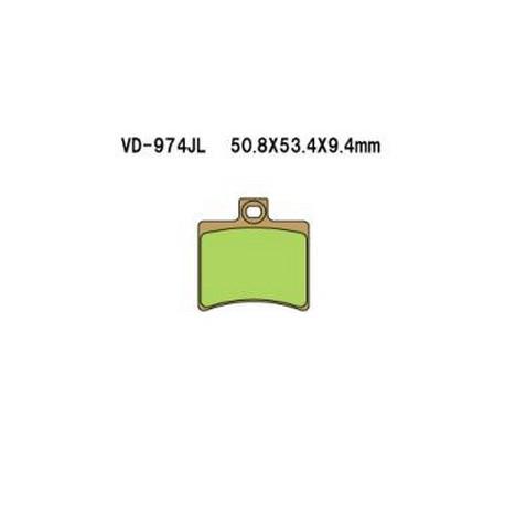Колодки тормозные Vesrah VD-974JL