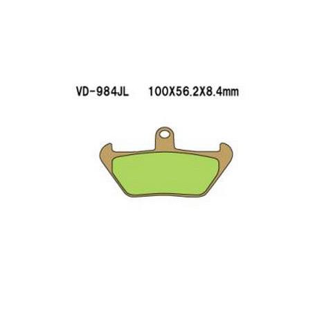 Колодки тормозные Vesrah VD-984JL