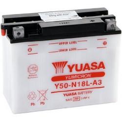 Аккумулятор Yuasa Y50-N18L-A3 (YTX24HL-BS)