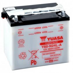 Аккумулятор Yuasa Y60-N24L-A