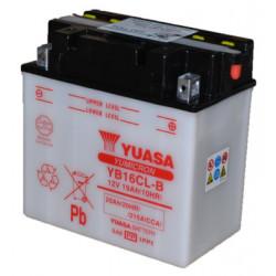 Аккумулятор Yuasa YB16CL-B (с электролитом в комплекте)