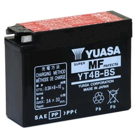 Аккумулятор Yuasa YT4B-BS (YT4B-5)