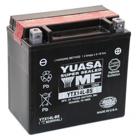 Аккумулятор Yuasa YTX14L-BS
