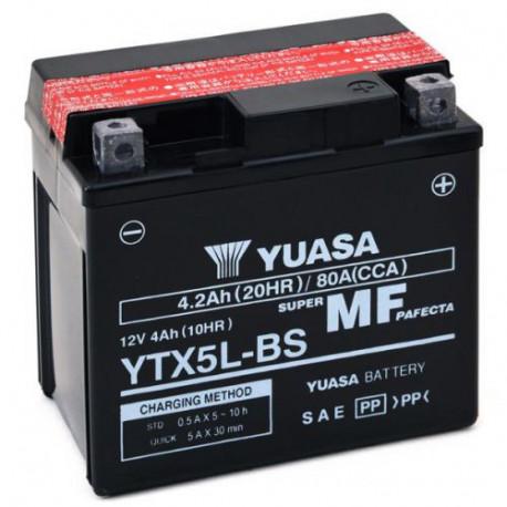 Аккумулятор Yuasa YTX5L-BS (YT5L-BS)