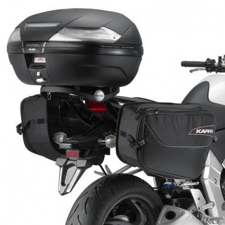 Крепление Kappa мягких и среднежестких боковых сумок Honda CB1000R (2008-2017) TE1101K