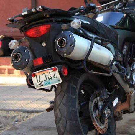 Крепление Kappa боковых кофров Kawasaki KLV1000 (2004-2009) KLX528