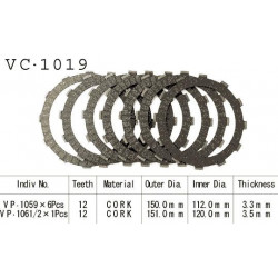 Диски сцепления VC-1019