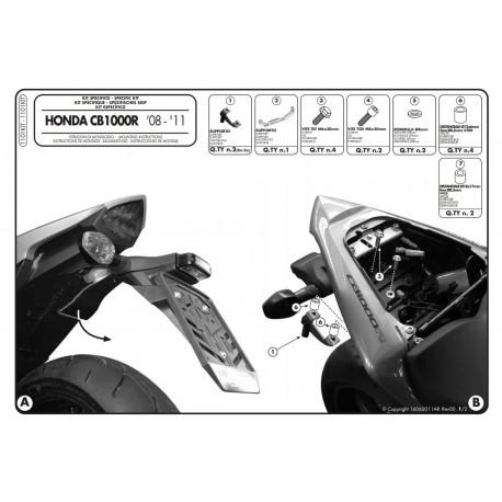 Kappa набор крепления Honda CB1000R (2008-2017) 1101KIT