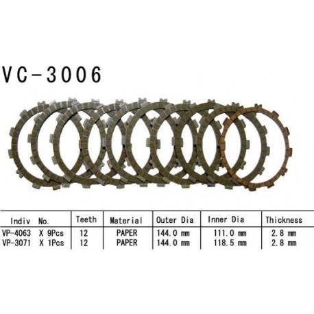 Диски сцепления VC-3006