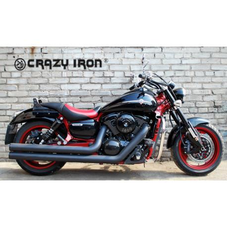 Дуги Crazy Iron для Kawasaki VN1500/1600 Mean Streak (45010) (черные)