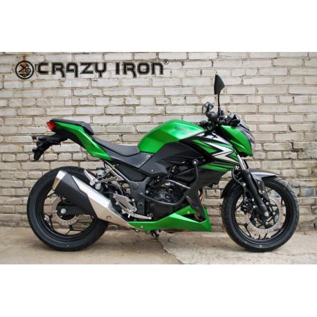 Дуги Crazy Iron для Kawasaki Z250/Z300 + слайдеры на дуги (44001)