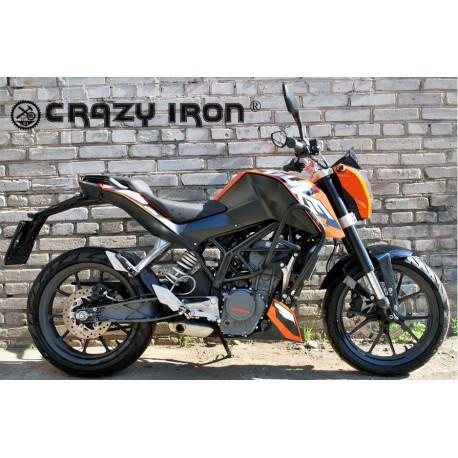 Дуги Crazy Iron для KTM Duke 125/200 (90021)