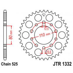 Звезда JTR1332-41 (PBR 4350-41)