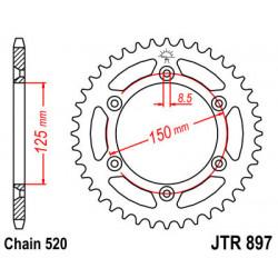 Звезда JTR897-49 (PBR 899-49)