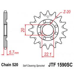 Звезда JTF1590-14SC (PBR 2103-14)