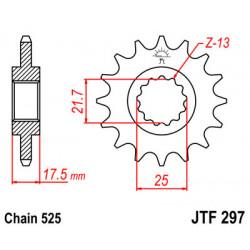 Звезда JTF297-14 (PBR 2041-14)