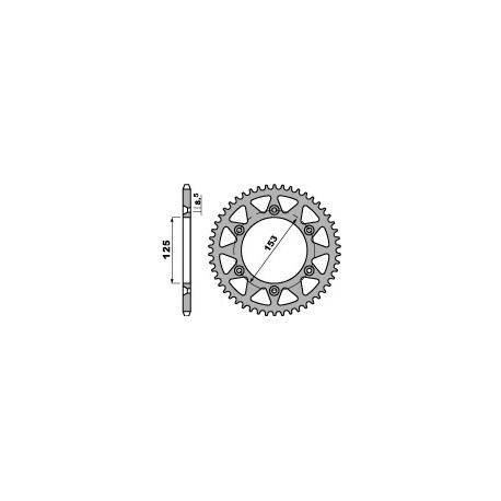 Звезда PBR 289-53L (JTR210-53)