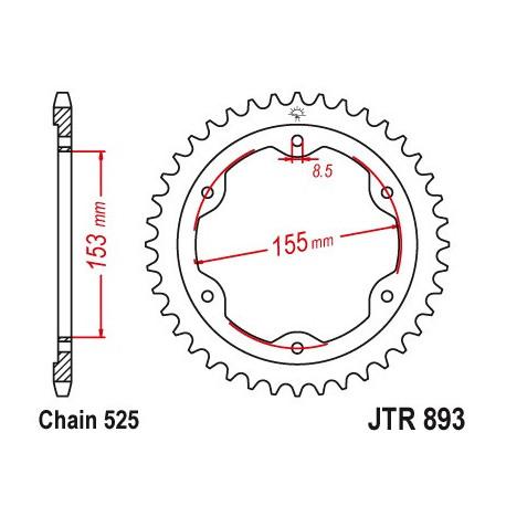 Звезда PBR 4642-38 (JTR893-38)