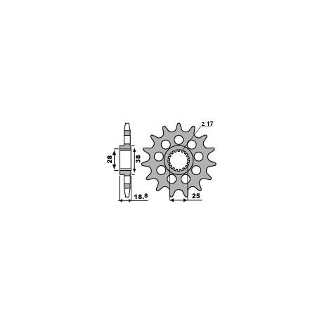 Звезда PBR 2078-17 (JTF704-17)