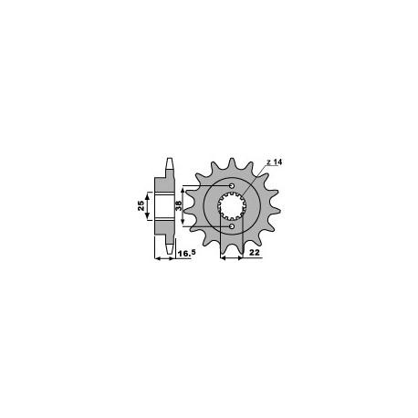 Звезда PBR 2205-14 (JTF741-14)