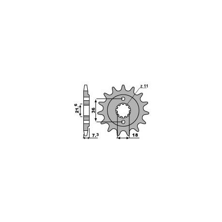 Звезда PBR 2261-14 (JTF1321-14)